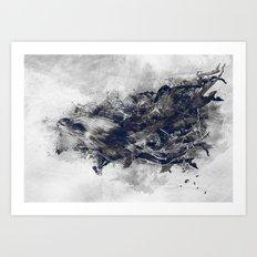 Spontaneity Art Print