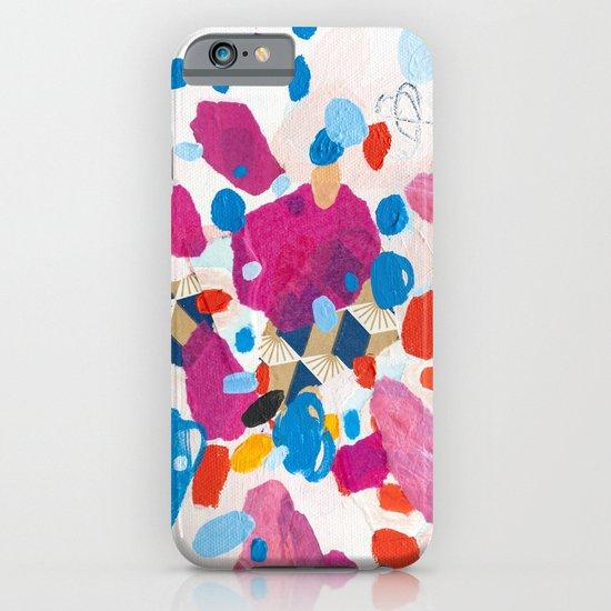 Fuchsia Physics iPhone & iPod Case