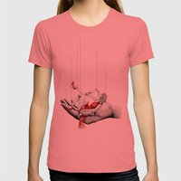 Lady In Red Womens Fitted Tee Pomegranate SMALL