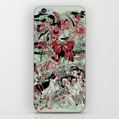 UNINVITED GARDEN iPhone & iPod Skin