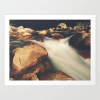 Tenaya Creek Art Print