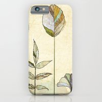 iPhone & iPod Case featuring Leaf Study by Rachael Shankman