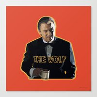 The Wolf 2 Canvas Print