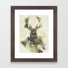I'm The Source Framed Art Print