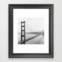Golden Gate Lookout No. … Framed Art Print