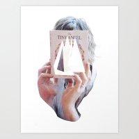 The Tiny Angel Art Print