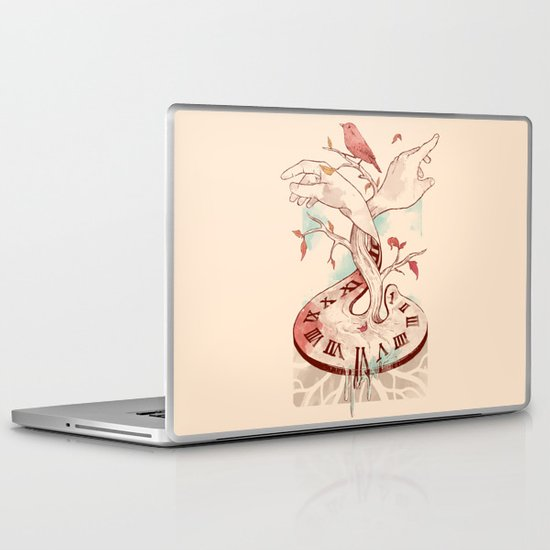 Hands of Time Laptop & iPad Skin
