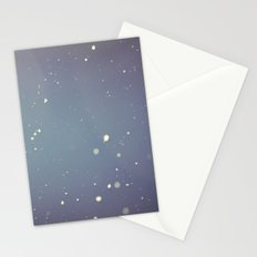 Snow falling down on me Stationery Cards