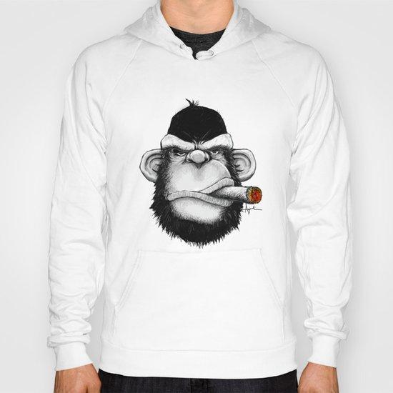 Cigar Monkey Hoody