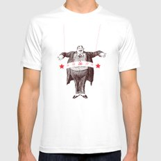 Am I Fat? Mens Fitted Tee White SMALL