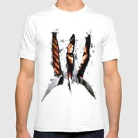 The Weapon XFactor Mens Fitted Tee White SMALL