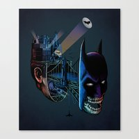 destructured hero#1 Canvas Print