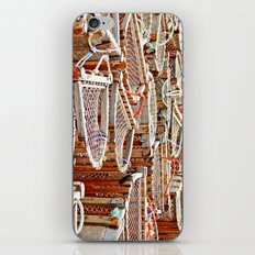 Traditional Lobster Traps iPhone & iPod Skin