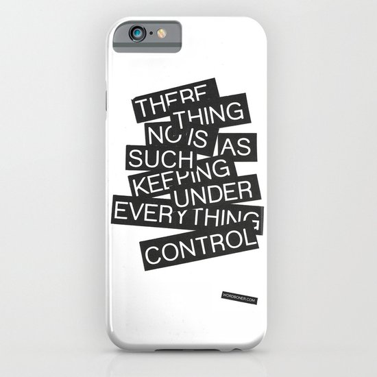 Under Control iPhone & iPod Case