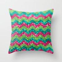 Candy Wonderland Throw Pillow