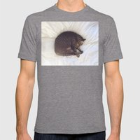 Furball Mens Fitted Tee Tri-Grey SMALL