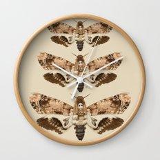 Acherontia Lachesis Wall Clock