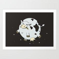 Full Moo Art Print