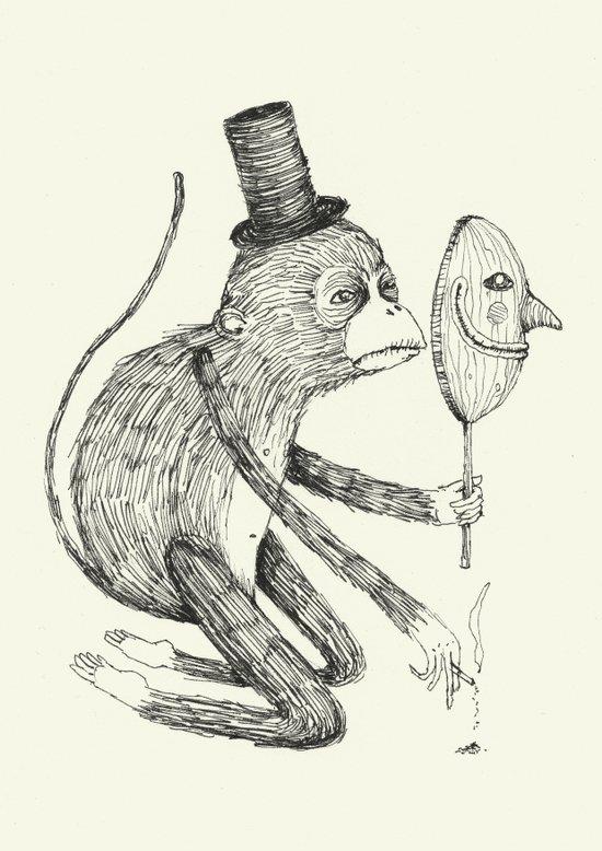 'Mask' Art Print