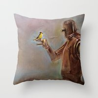 LittleTimeToRest Throw Pillow
