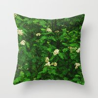 Greenery II Throw Pillow