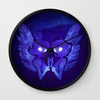Raven And Crow Wall Clock