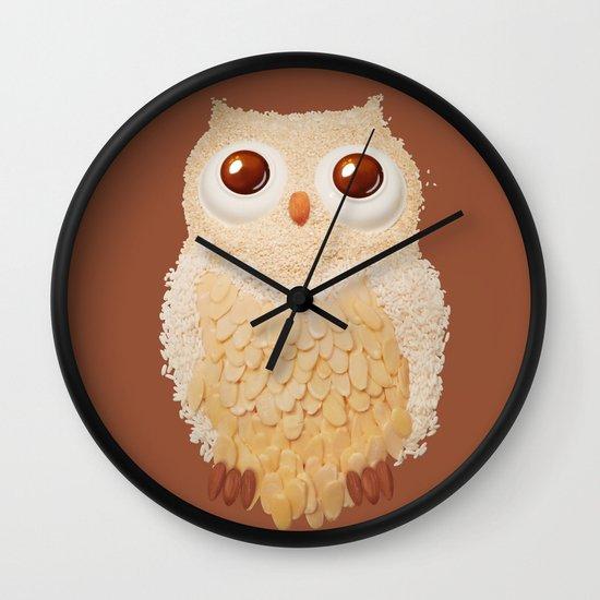 Owlmond 1 Wall Clock