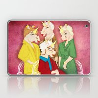 Golden Unicorns Laptop & iPad Skin