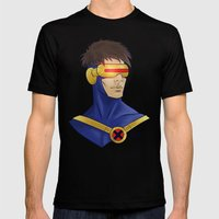 Cyclops Mens Fitted Tee Black SMALL