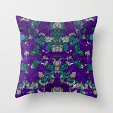 Chaotic Pattern Throw Pillow