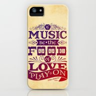 iPhone & iPod Case featuring Food Of Love  by Rollerpimp