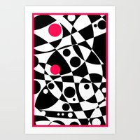 Its Not Just Black or White Art Print