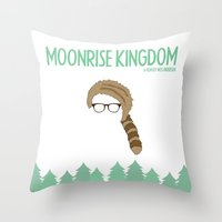 Moonrise Kingdom-1 Throw Pillow