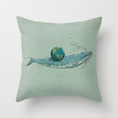 Save the Planet II Throw Pillow