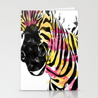 Zebra Fun  Stationery Cards