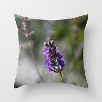 lavendar Throw Pillow