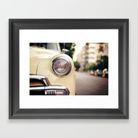 The Car Framed Art Print