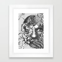 das experiment Framed Art Print