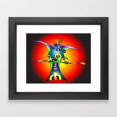 Dekari Warrior Framed Art Print