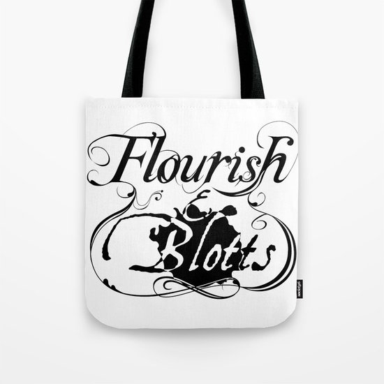 Flourish & Blotts of Diagon Alley Tote Bag