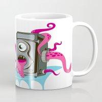 Monster Camera Mug