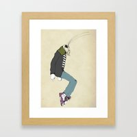 Michael Framed Art Print