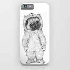 Winter Pug iPhone 6 Slim Case