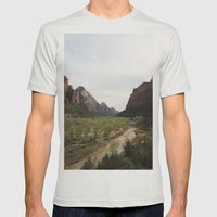 The Virgin River Mens Fitted Tee Silver SMALL