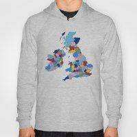 England, Ireland, Scotland & Wales Hoody