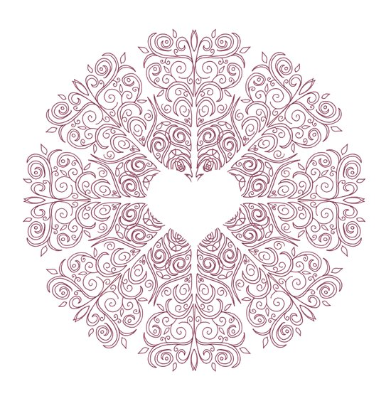 Love Lace Canvas Print