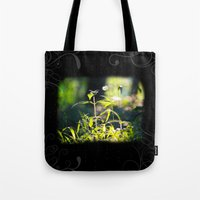 Evening Plant Glow Tote Bag