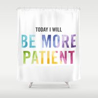 New Year's Resolution Re… Shower Curtain