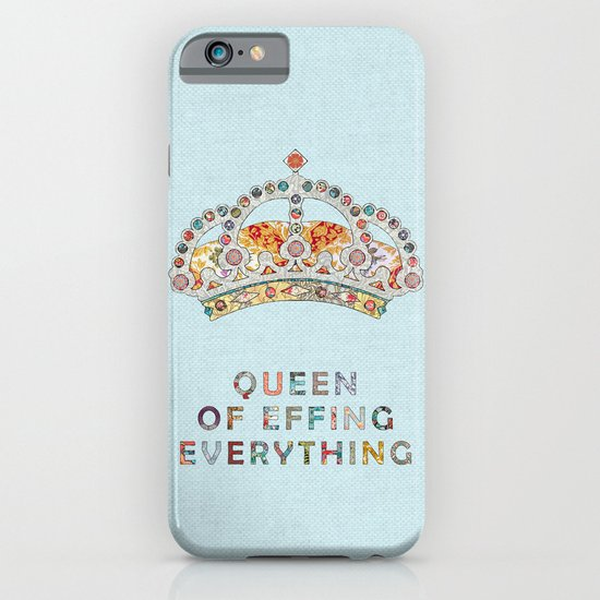 her daily motivation iPhone & iPod Case