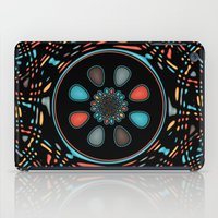 Abstract on black iPad Case